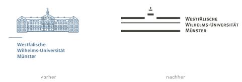 Mi., 18.07.2007, WN, Uni-Studenten über neues Logo entsetzt