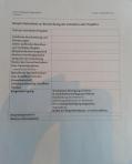 Entwurf einer Vorhabenliste aus Bonn.