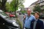 Carsten Peters (Stadtrat) und Jörg Rostek (Ratskandidat)