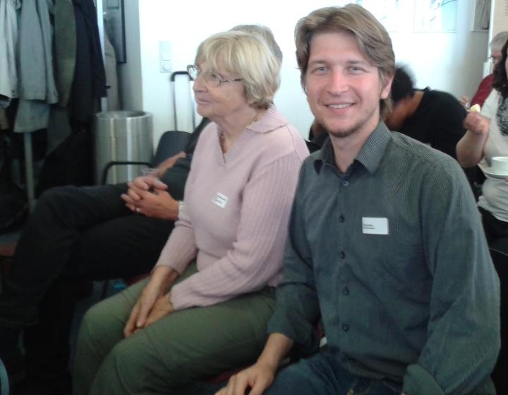 Hannelore Wiesenack_Hauss und Jörg Rostek_auf dem Jahrestreffen des Netzwerks Bürgerbeteiligung_bearb1