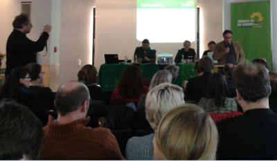 Kreisversammlung der Grünen in Münster