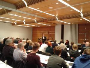 Sonderparteitag der SPD Münster zu TTIP, CETA und TiSA.