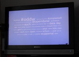 Open Data Bildschirm