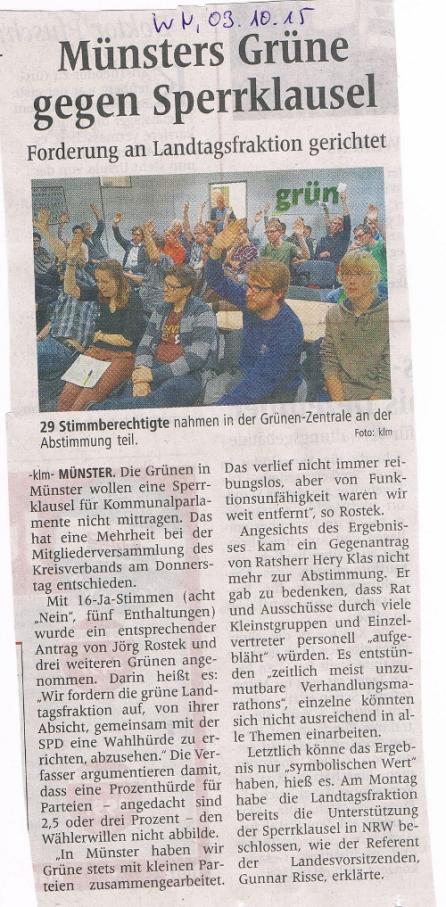 2015_03_15_WN_Münsters Grüne gegen Sperrklausel
