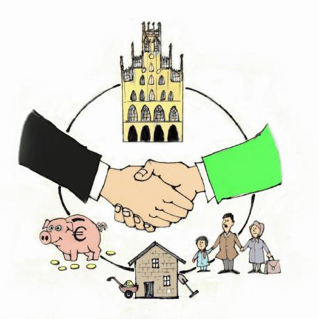 Erstmals gibt es in Münster ein Bündnis zwischen Christdemokrat*innen undGrünen