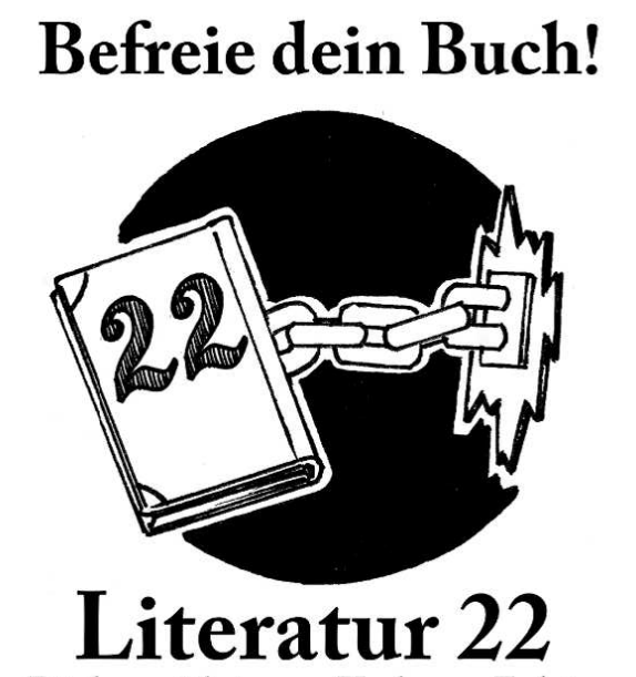 Literatur 22 wieder am 22.September