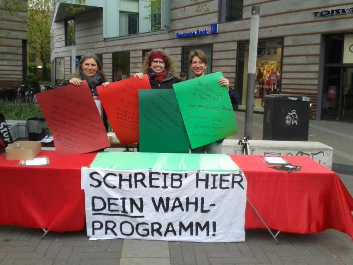 DGB gegen Rechts – der 1. Mai in Münster in bewegtenBildern