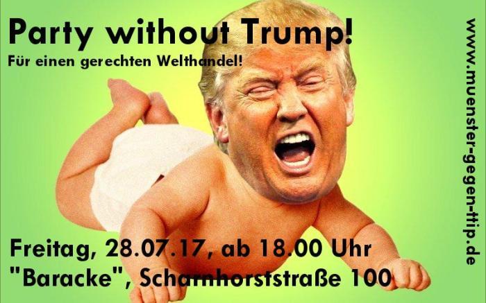Fair feiern…ohne Trump