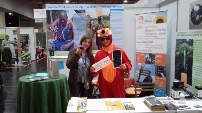 Für die DGS NRW als Fuchs auf der FairFriends 2017 inDortmund
