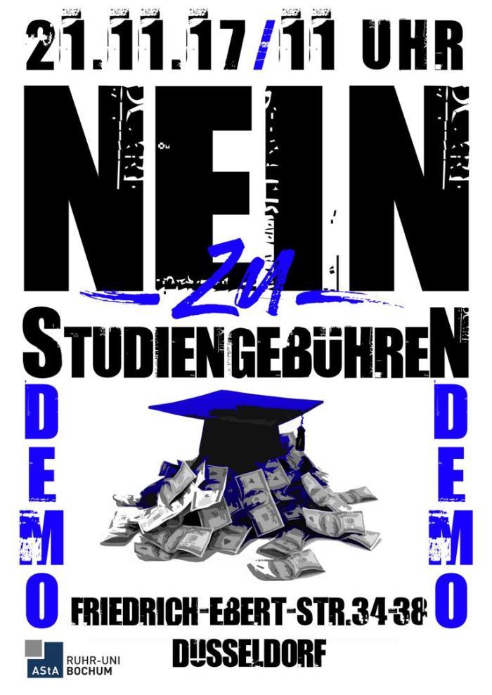 Still against Studiengebühren!